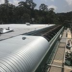 Commercial metal roof CJ Taylor metal roofing 2018