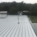 Solar commercial property metal roofing CJ Taylor metal roofing
