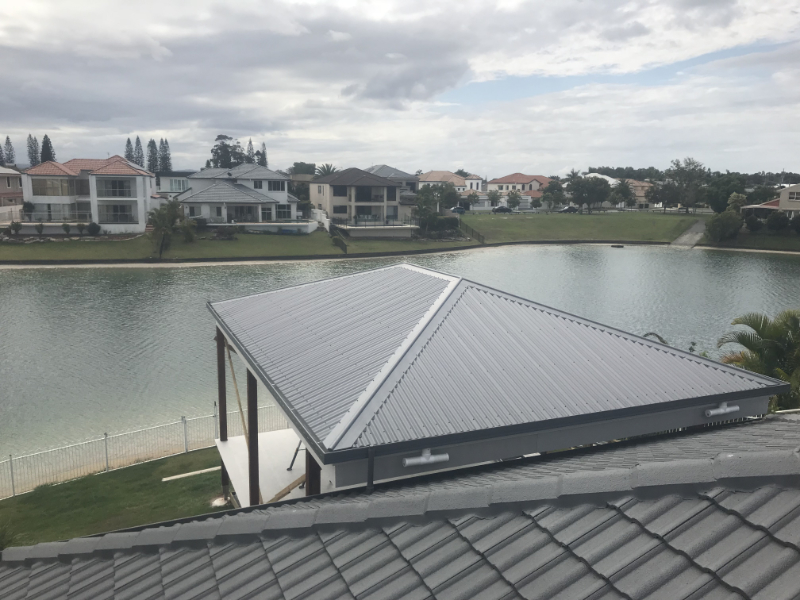 Gold Coast Colorbond Metal Roofing Cj Taylor Metal Roofing
